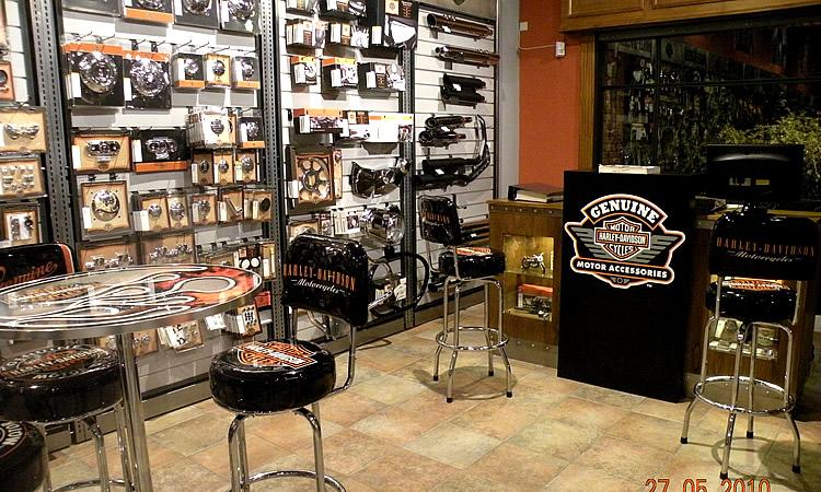 Piso de ventas Harley-Davidson Buenos Aires